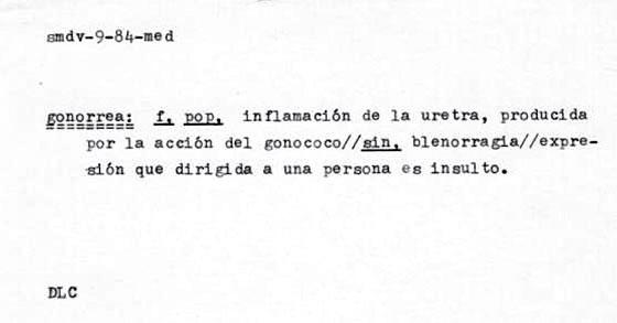 Gonorrea Historia Del Insulto De Insultos Juan Fernando